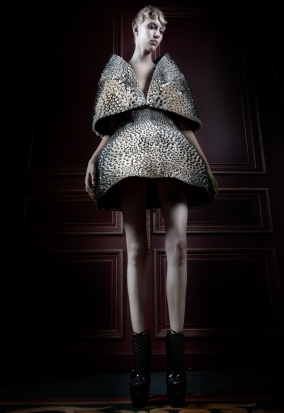 3DP Dress in Museum of Art and Design, NYC image