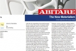ABITARE The New Materialism image